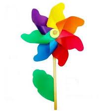 Moulin à vent en bois pour enfants, 20 pièces, livraison gratuite, jouet  d'extérieur, décoration de jardin | AliExpress